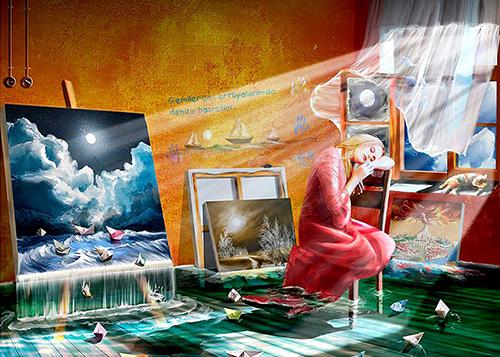 Сонник рисую во сне